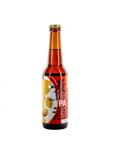 Bière artisanale japonaise de Kanazawa - IPA - 330ML 7°