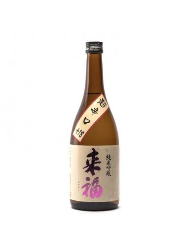 Raïfuku Chokarakuchi - saké sec du Japon - Préfecture d'Ibaraki - Toulouse Saké Club