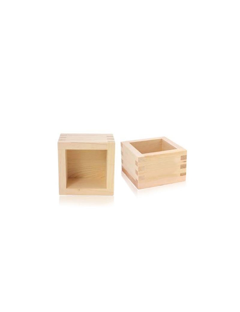 Verre à saké en bois - Saké masu - Bois de hinoki