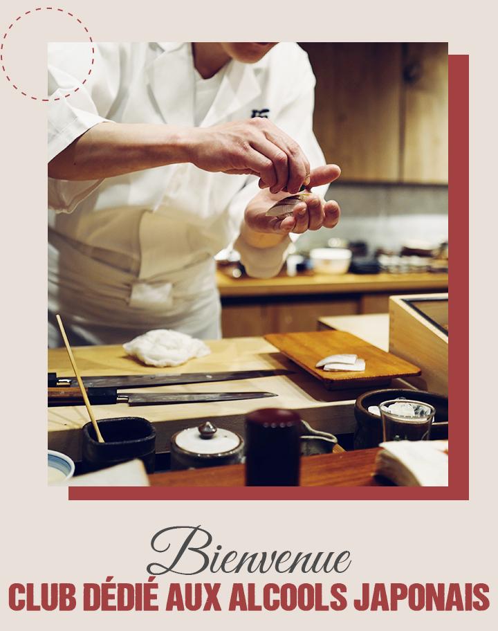 Premier club national dédié au sake - Toulouse sake club